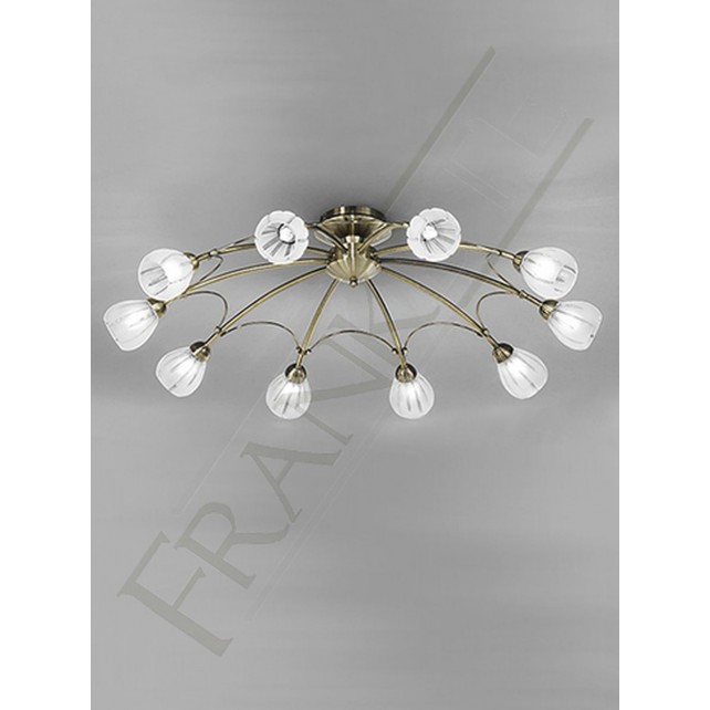 Franklite FL2207/10 Chloris 10 Light Fitting