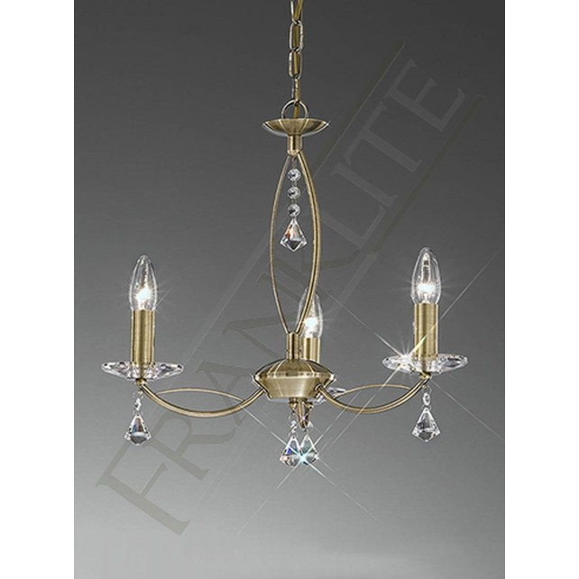 Franklite FL2228/3 Monaco 3 Light Fitting