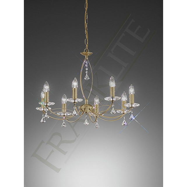 Franklite FL2228/8 Monaco 8 Light Fitting
