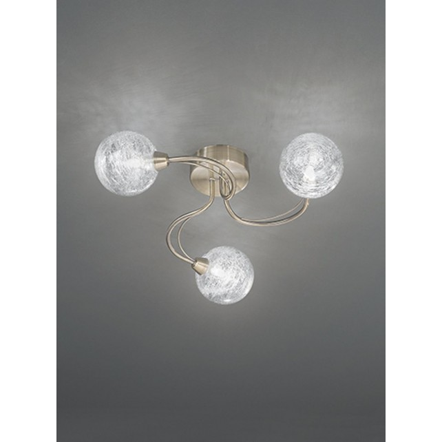 Franklite FL2328/3 Gyro 3-Light Ceiling Flush