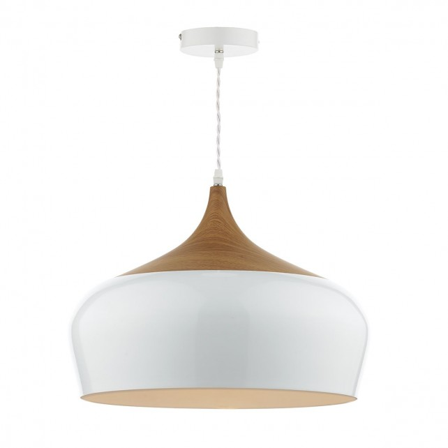 Dar Gaucho 1-Light Large Pendant White