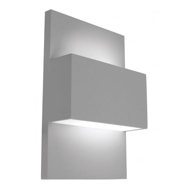 Norlys GENEVE 18W ALU Geneve Wall Light 18W Aluminium