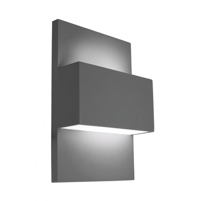 Norlys GENEVE E27 GRA Geneve Wall Light E27 Graphite