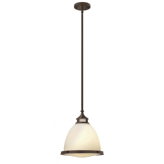 Hinkley Lighting HK/AMELIA/P/M KZ Amelia 1 - Light Mini Pendant