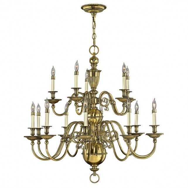 Hinkley HK/CAMBRIDGE15 Cambridge 15-Light Chandelier