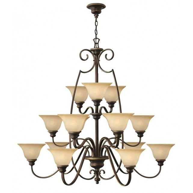 Hinkley Lighting HK/CELLO15 Cello 15 - Light Chandelier