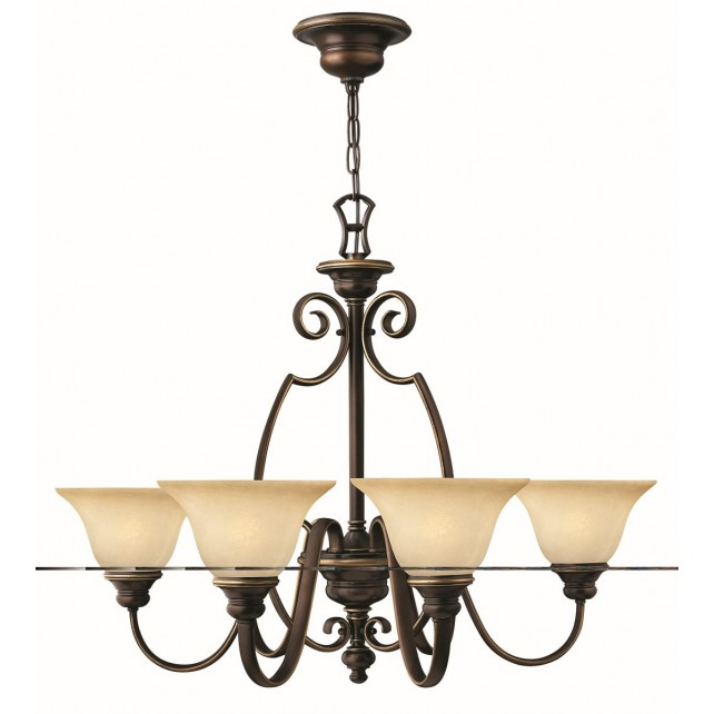 Hinkley Lighting HK/CELLO6 Cello 6 - Light Chandelier