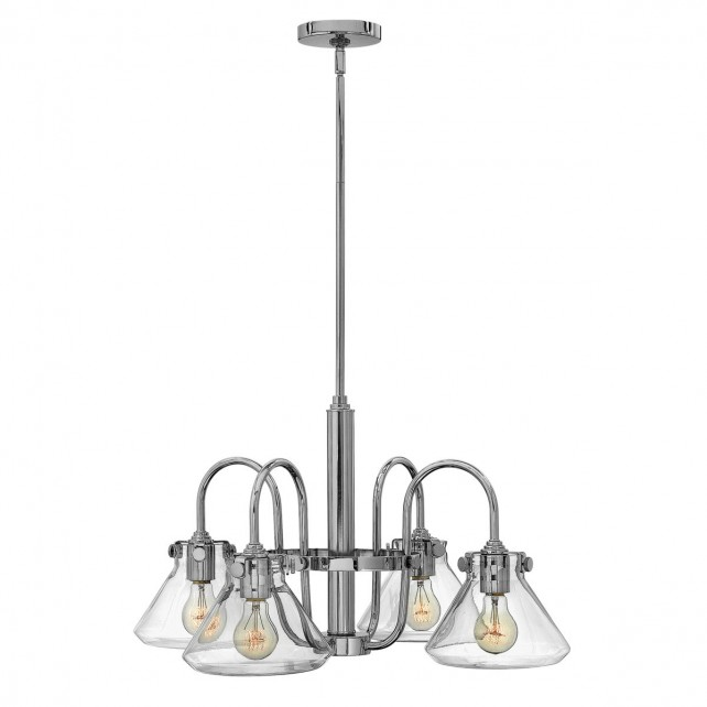 Hinkley HK/CONGRES4/A CM Congress Clear Glass Chandelier