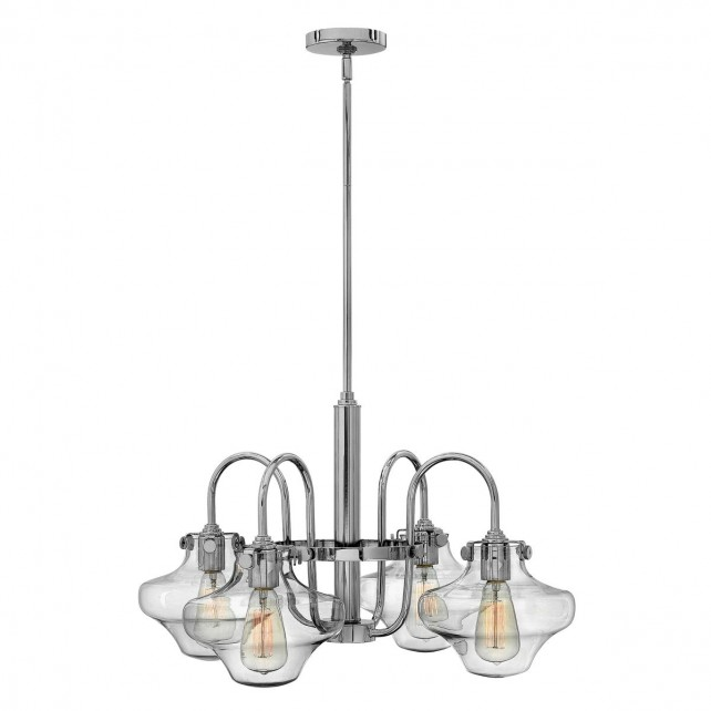 Hinkley HK/CONGRES4/B CM Congress Clear Glass Chandelier
