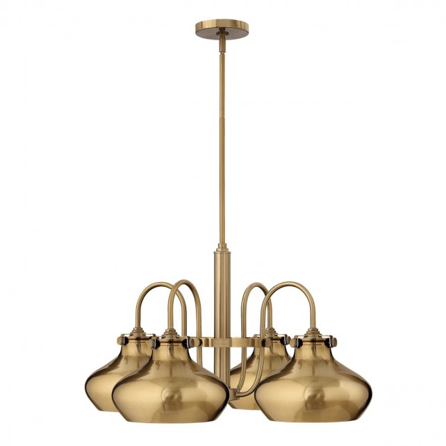 Hinkley HK/CONGRES4/C BC Congress Metal Shade Chandelier