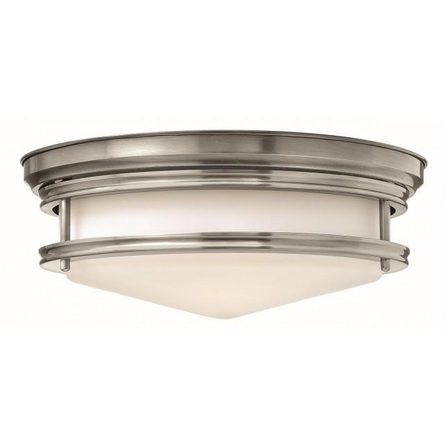 Hinkley Lighting HK/HADLEY/F AN Hadley 3 - Light Flush Light Antique Nickel