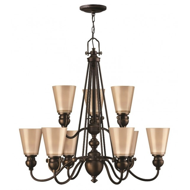 Hinkley Lighting HK/MAYFLOWER9 Mayflower 9 - Light Chandelier