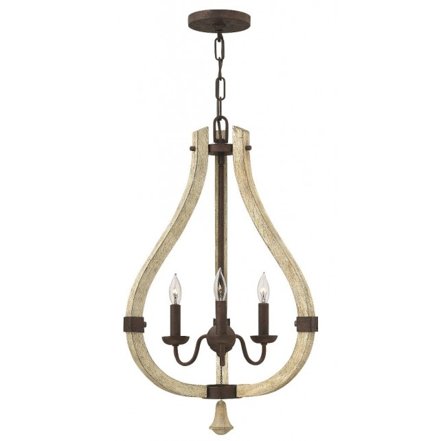 Hinkley Lighting HK/MIDDLEFIELD3 Middlefield 3 - Light Chandelier