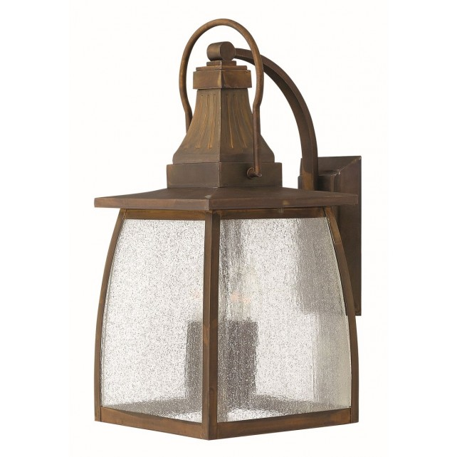 Hinkley Lighting HK/MONTAUK L Montauk 2 - Light Large Wall Lantern