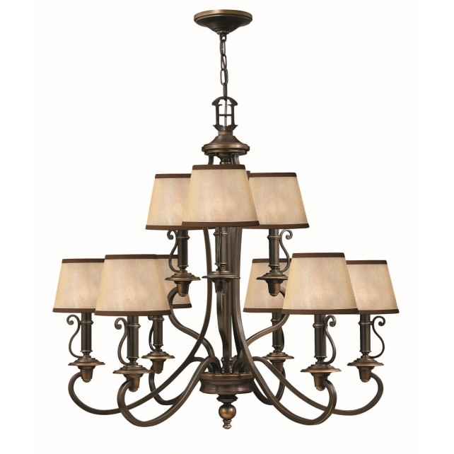 Hinkley Lighting HK/PLYMOUTH9 Plymouth 9 - Light Chandelier