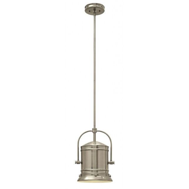 Hinkley Lighting HK/PULLMAN/M BN Pullman 1 - Light Pendant Brushed Nickel