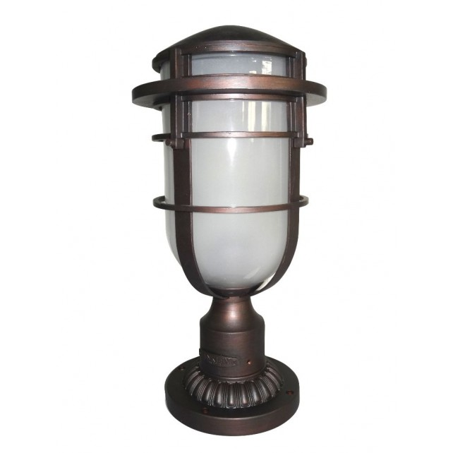 Hinkley Lighting HK/REEF3 VZ Reef 1 - Light Pedestal Victorian Bronze