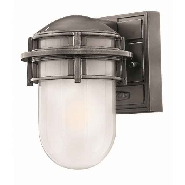 Hinkley Lighting HK/REEF/MINI HE Reef Mini 1 - Light Lantern Hematite