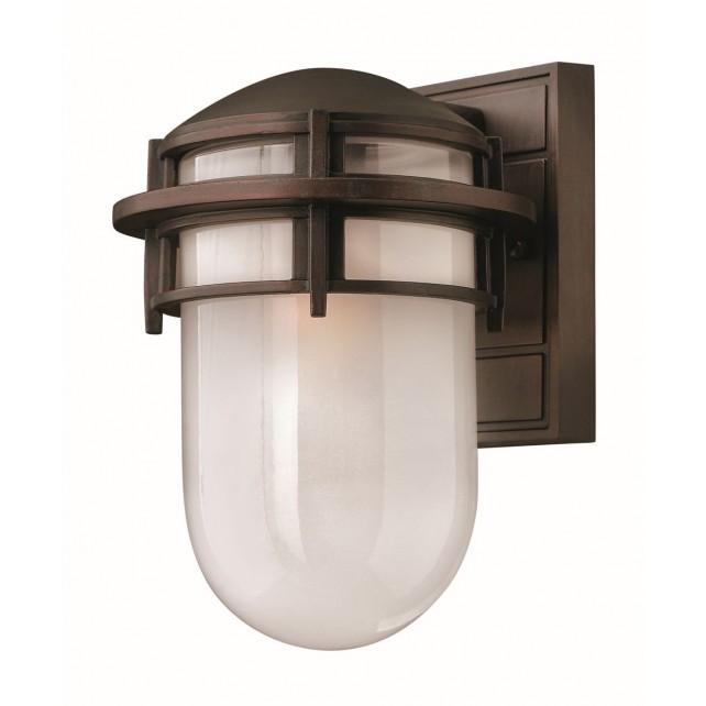 Hinkley Lighting HK/REEF/SM VZ Reef Small 1 - Light Lantern Victorian Bronze