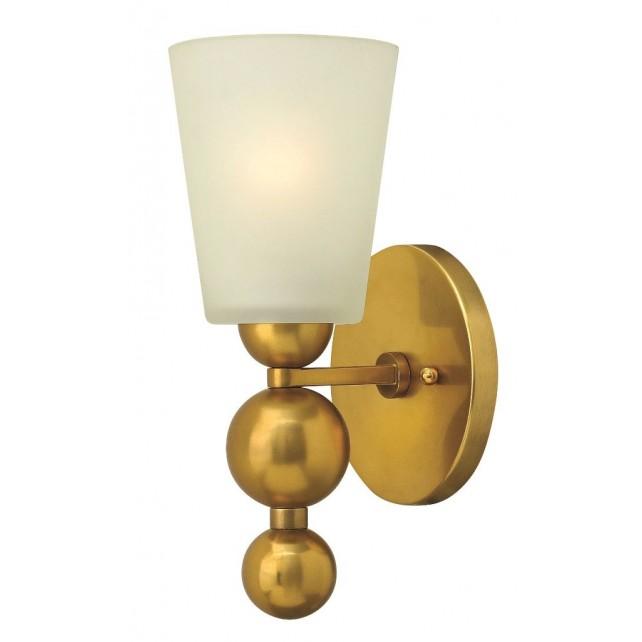 Hinkley Lighting HK/ZELDA1 VS Zelda 1 - Light Wall Light Vintage Brass