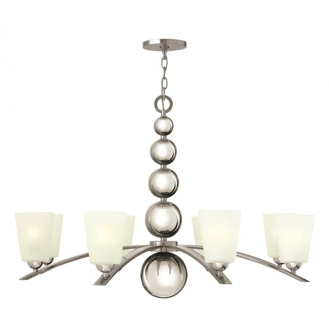 Hinkley Lighting HK/ZELDA8 PN Zelda 8 - Light Chandelier Polished Nickel