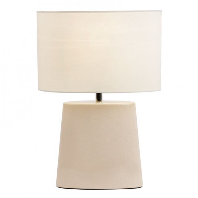 Iris table lamp cream
