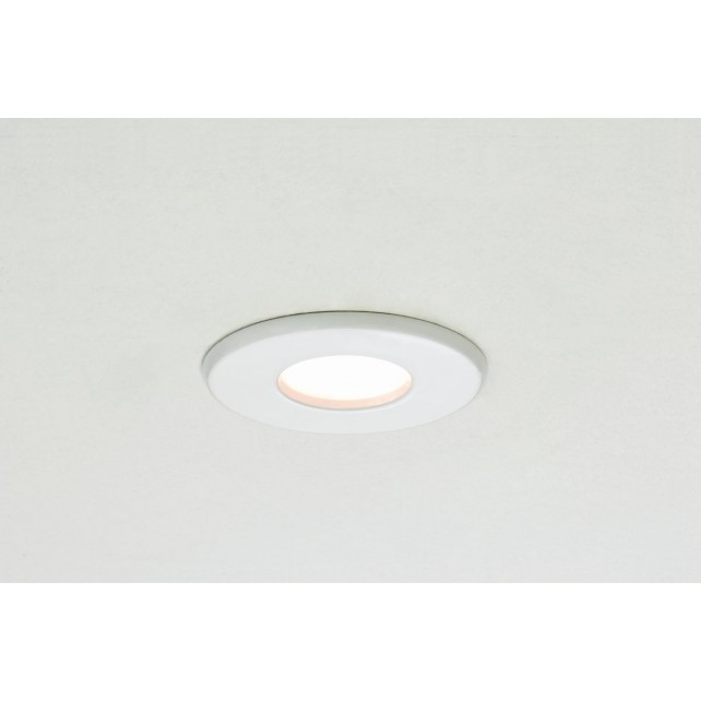 Astro Lighting Kamo 230v Fire-Rated Downlight - 1 Light, White