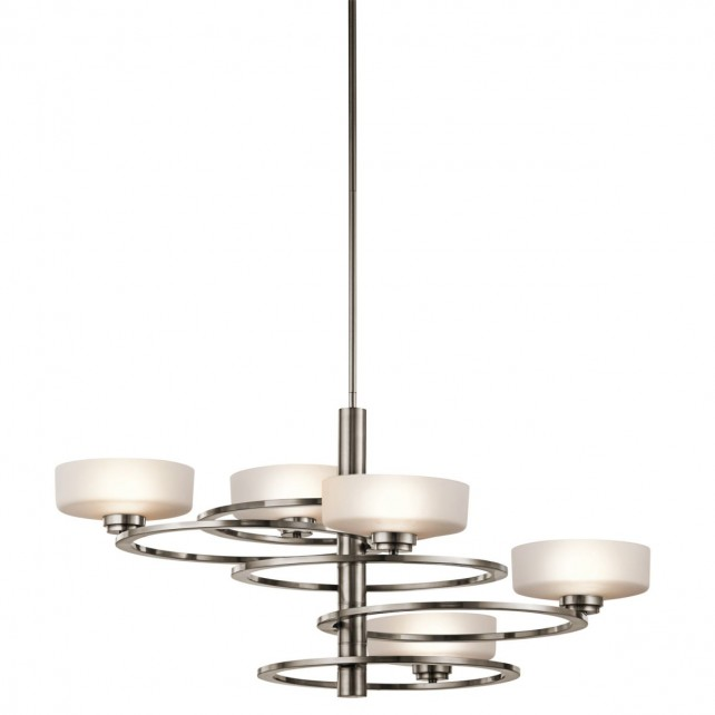 Kichler KL/ALEEKA5B Aleeka 5-Light Chandelier