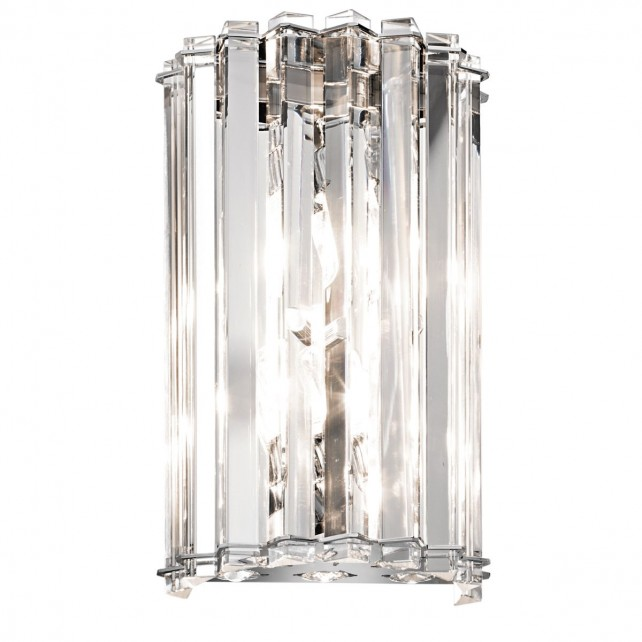 Kichler KL/CRSTSKYE2 Crystal Skye 2-Light Wall Light