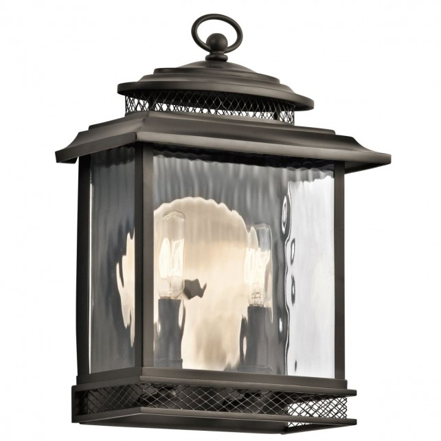 Kichler KL/PETTIFORD/M Pettiford Large Wall Lantern