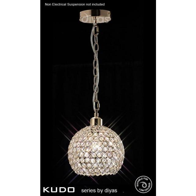 Diyas Kudo Ball Shade French Gold/Crystal
