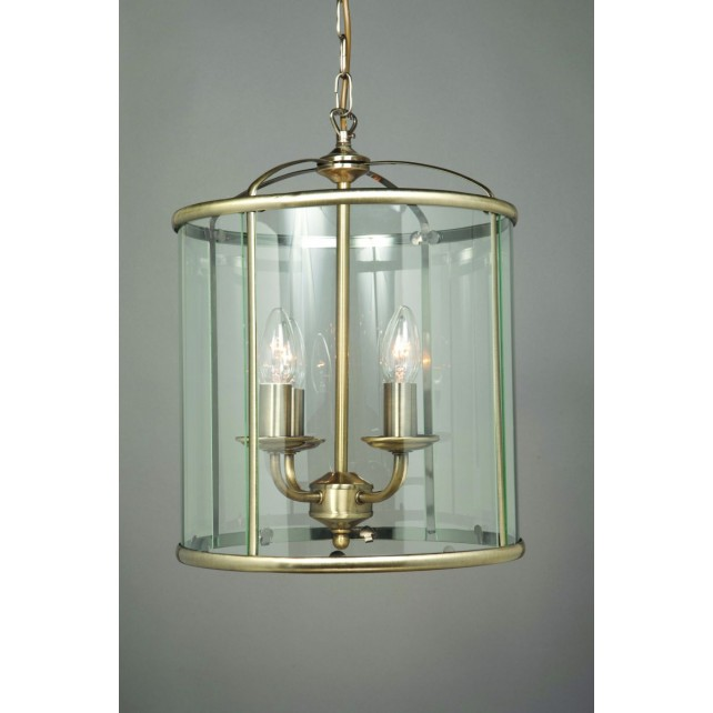 Impex Orly Lantern Antique Brass - 4 Light