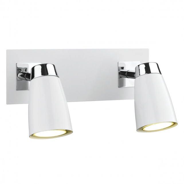Loft Square Wall Light - 2 Light