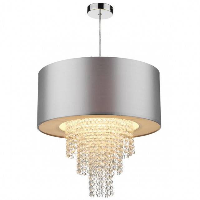 Lopez Non-Electrical ceiling pendant - silver