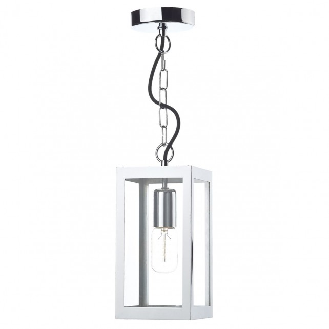 Lotus Single Pendant Light - Polished Chrome