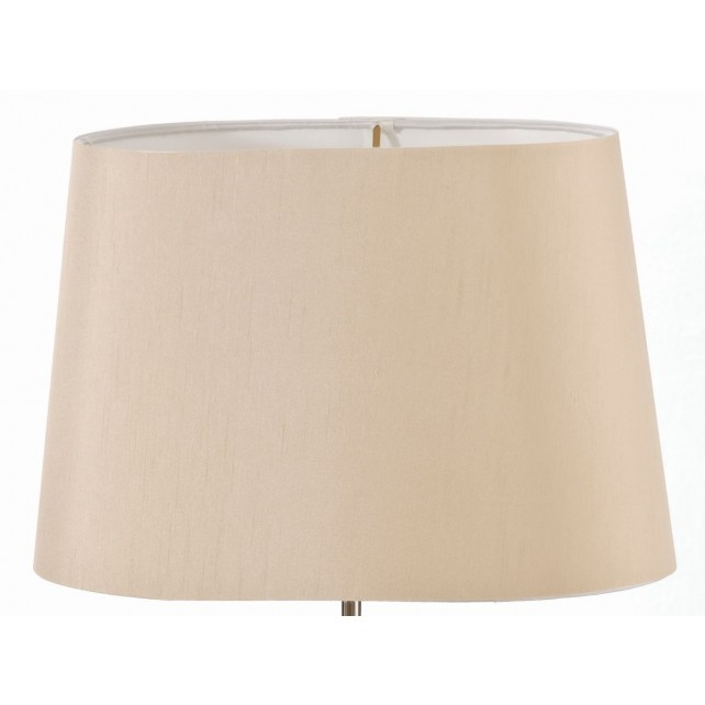 Luis Collection LUI/LS1123 Camel 39cm Tapered Oval Shade