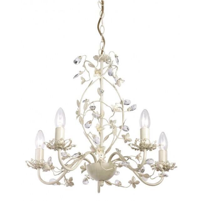 Lullaby Ceiling Light - 5 Light Cream Gold