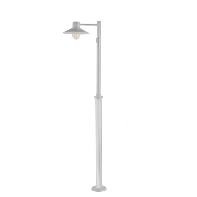 Norlys LUND5 GAL C Lund Single Post Galvanised Clear