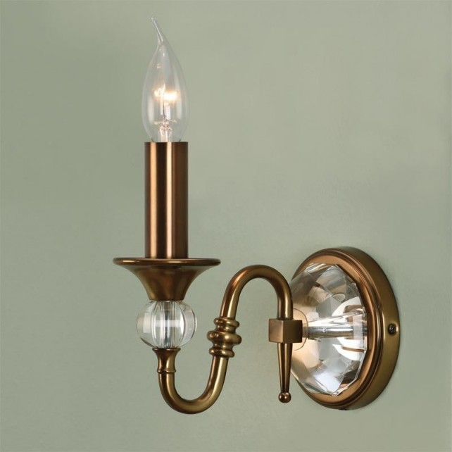 Interiors1900 Polina Brass Single Wall Light