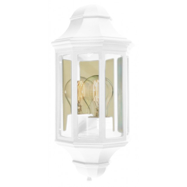 Norlys M8/2 MINI WHITE Malaga Mini M8/2 Half Lantern White