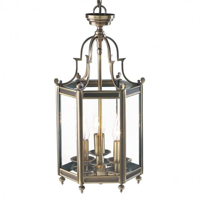 Moorgate Lantern (Dual Mount) - Antique Brass