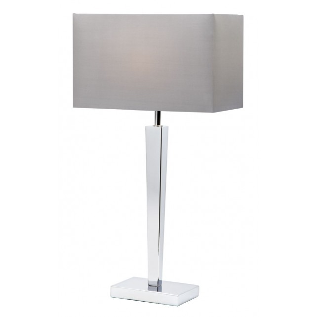 Moreto Chrome Table Lamp