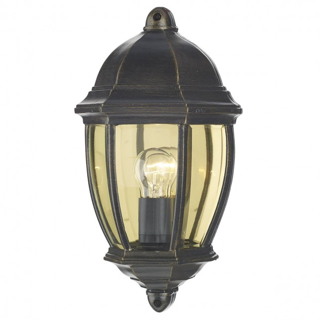 Newport Wall Light - Black/Gold