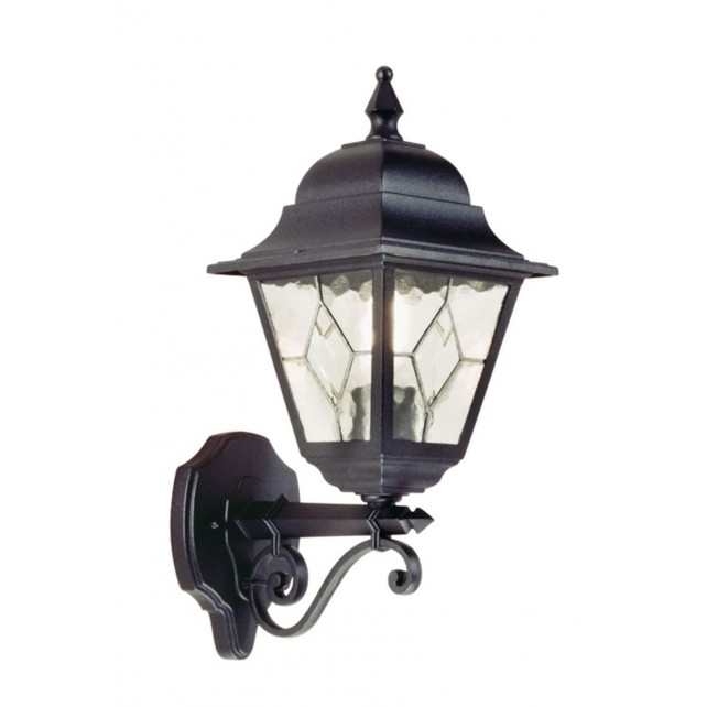 Elstead NR1 BLK Norfolk Up Wall Lantern