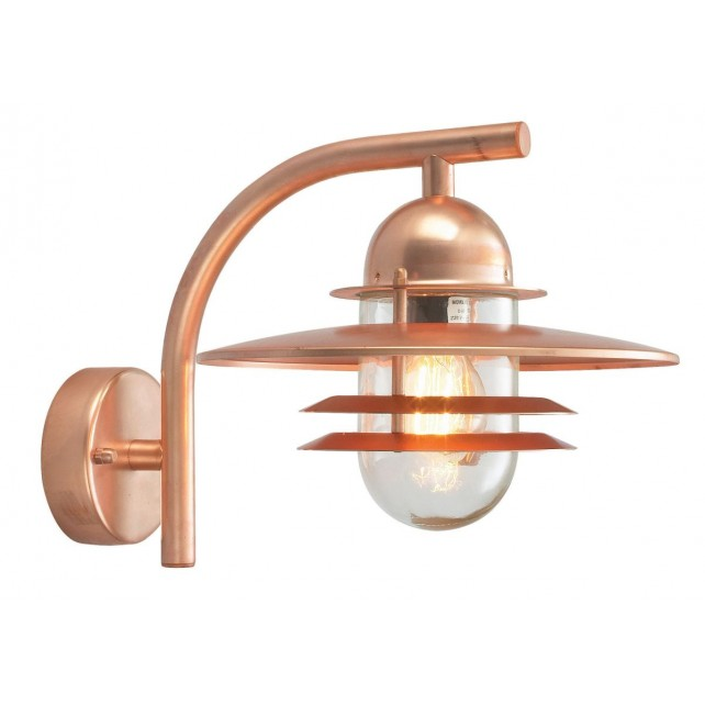 Norlys OS2 COPPER C Oslo Wall Lantern Copper Clear