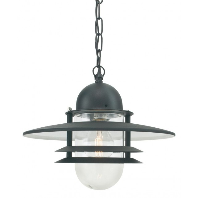 Norlys OS8 GAL C Oslo Chain Lantern Galvanised Clear