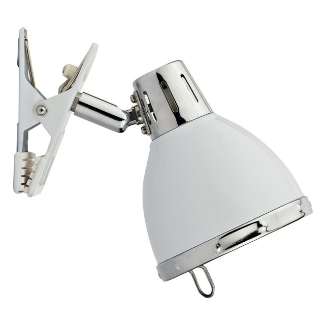 Osaka Clip on Spot Light - 1 Light, White