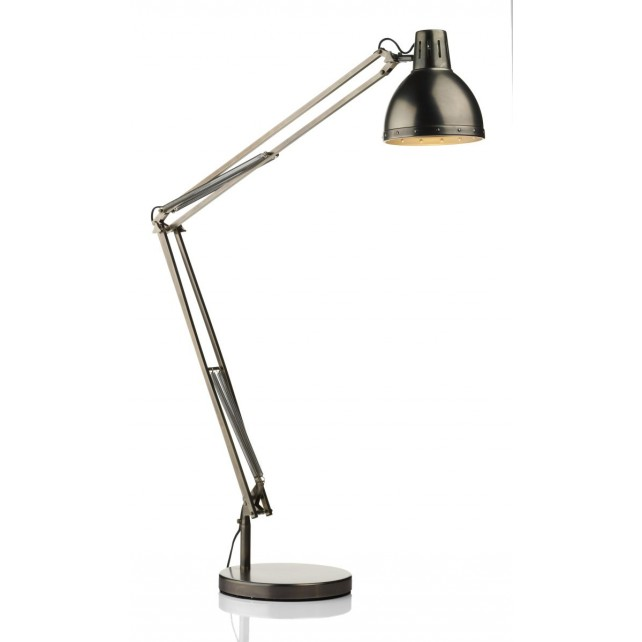 Osaka FLoor Lamp - Antique Chrome