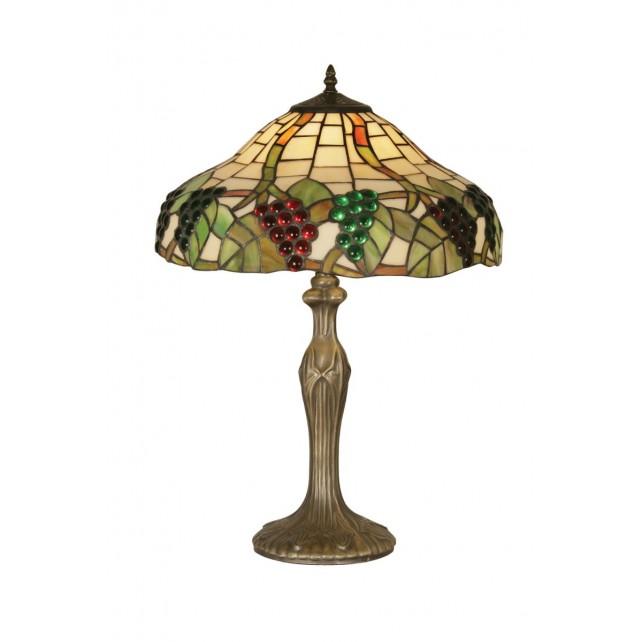 Oaks Lighting OT 0209/16 TL Grapes Ii Tiffany