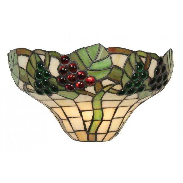 Oaks Lighting OT 0209 WB Grapes Ii Tiffany Wall Light